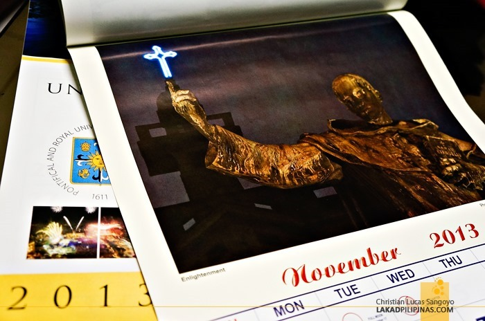 My Photo at University of Santo Tomas 2013 Calendar