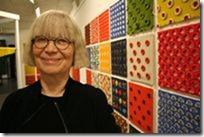Britt-Marie Christoffersson på udstilling
