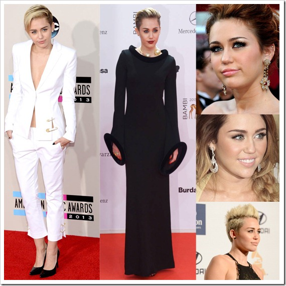 Miley Cyrus Wear Lorraine Schwartz jewelry on the red carpet