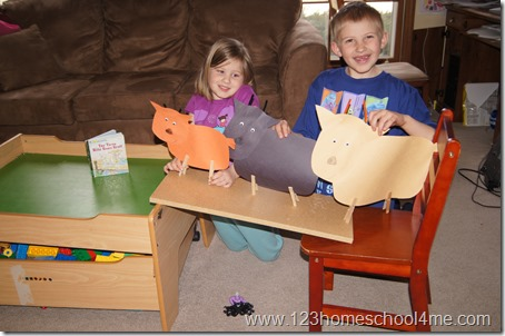 3 Billy Goats Gruff Craft and Activity