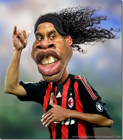 Caricatura Ronaldinho1