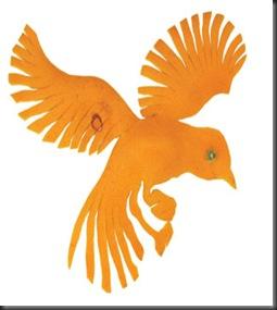 figurine -mandarine