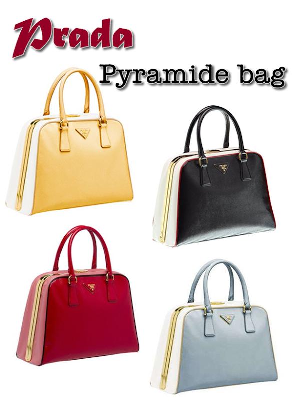 Prada Pyramide bag