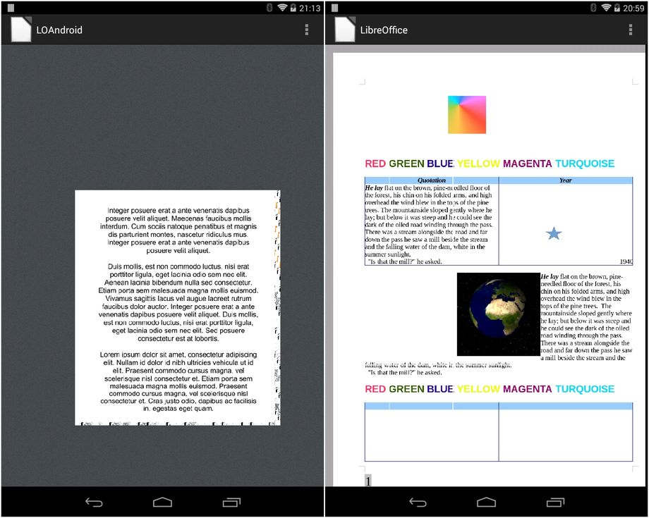 LibreOffice per Android