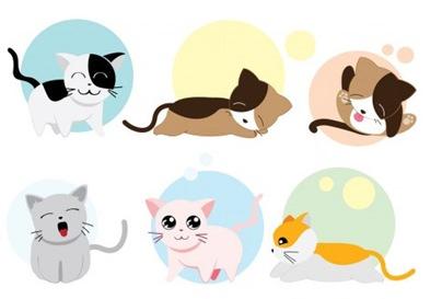 vector-gatos