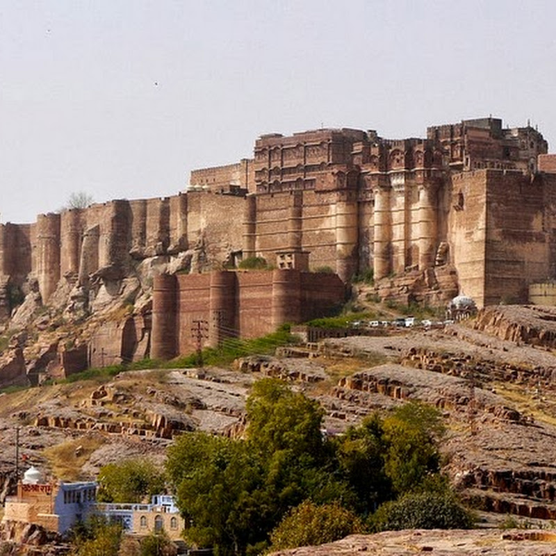 Mehrangarh Fort of Jodhpur, India
