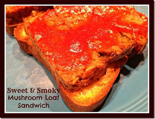 mushroom loaf sandwich