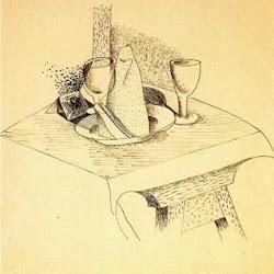 Benjamín Palencia (1948): Bodegón cubista. Transvanguardia/Figuración. Realismo crítico