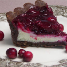 Almond Tart With Cranberry Topping