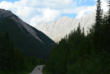 breathtaking vertical limestone mountains