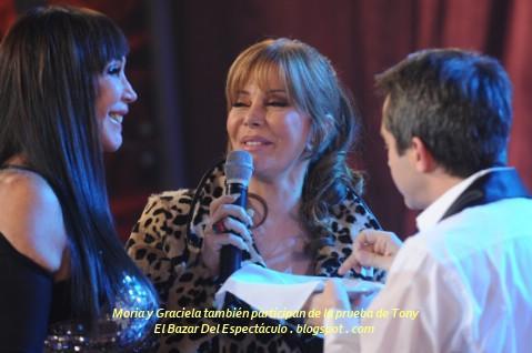 Moria y Graciela también participan de la prueba de Tony.JPG