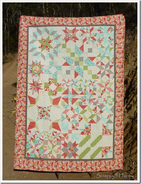 My finished quilt front