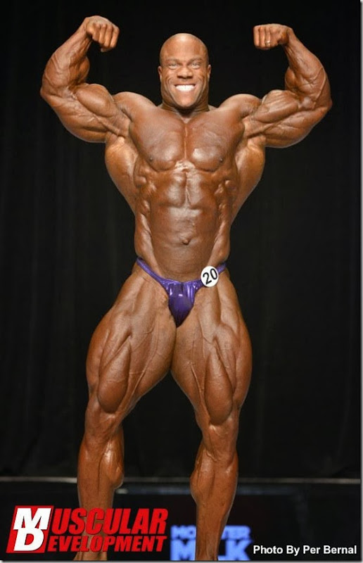 Phil Heat Mr Olympia 2013