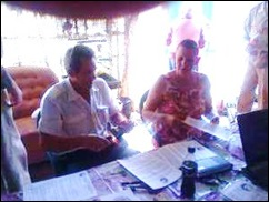 AFRIKANERS SIGNING UP FOR VOLKSRAAD ELECTION DASPOORT 23JUL2011 AFRIKANER JOURNAL