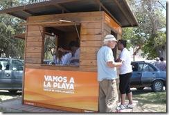 Arba comenzó con su atención en los puestos móviles en el Partido de La Costa