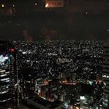 night view of shinjuku in Roppongi, Tokyo, Japan