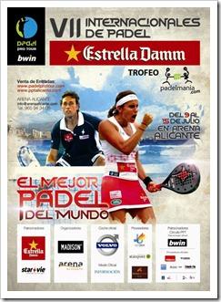 VII Internacionales Pádel Estrella Damm Bwin PPT Trofeo Padelmania 2012 en Alicante.