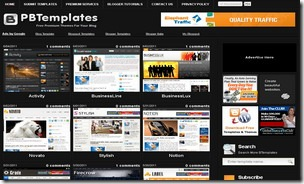 top 20 free blogger templates sites 01 Premium Blogger Templates