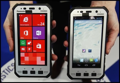 Novos smartphones Toughpad da Panasonic