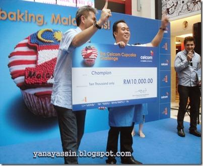 Pemenang Celcom Cupcake  230