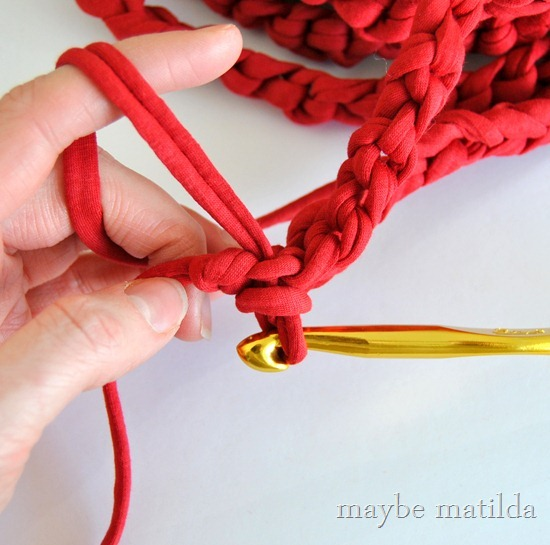 Slip stitch in crochet how to