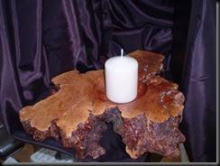 Centro de mesa en madera de Raiz de Brezo