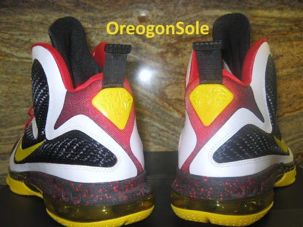 Unreleased Nike LeBron 9 8220MVP8221 8211 Black Midsole Sample