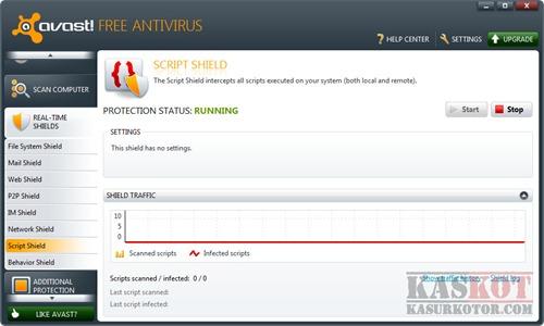 Avast Script Shield, Melindugi Komputer dari Script Berbahaya