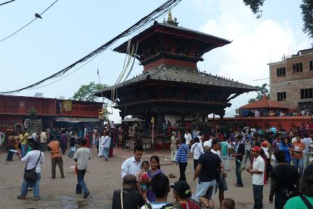 Obiective turistice Nepal: templu Manakamana
