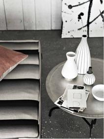 Svart och vit interiör, Emma Thomas 2
