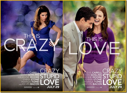 A Look at the Crazy, Stupid Love Movie Posters | Cher ...