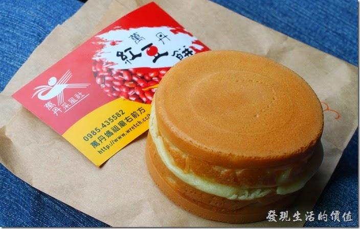 萬丹采風社的紅豆餅