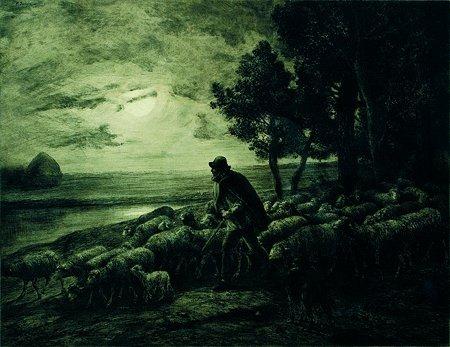 Charles Jacque - Le Retour du Berger