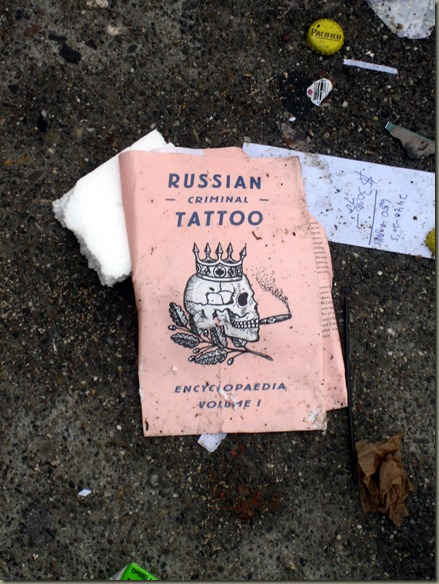 Russian -Criminal- Tattoo