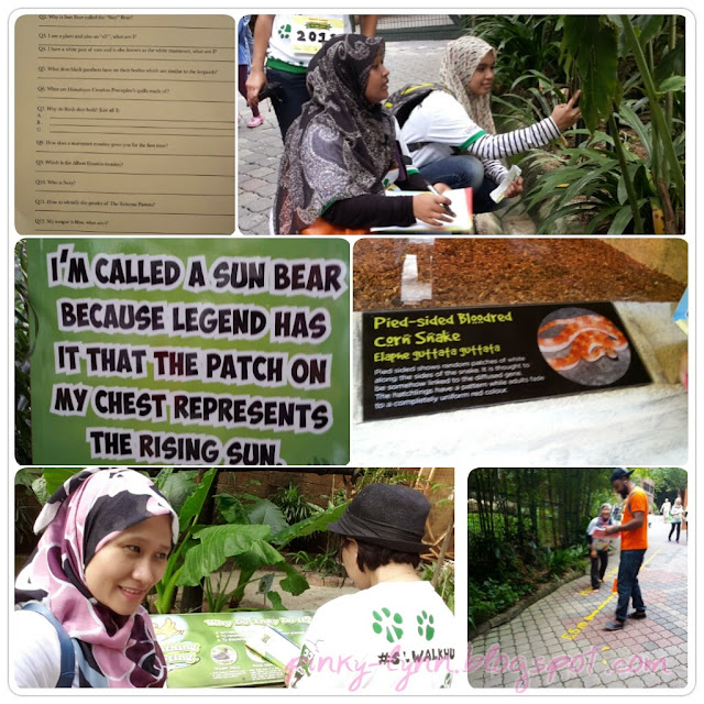 Walk and Hunt in The Wild 2015 Sunway Lagoon