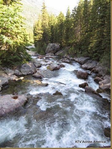 Begin of river