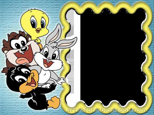 Marcos para fotos de los looney tunes bebés - Imagui