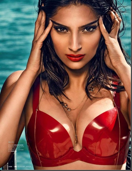 Sonam Kapoor Hot And Sexy Look Gq India