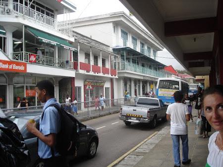 Principalul bulevard din Victoria