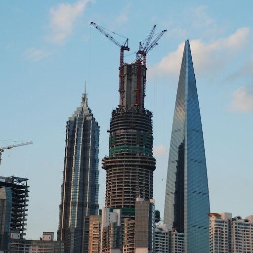 Shanghai South Bund - Gratte-ciel