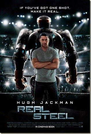 Real Steel Intl Poster