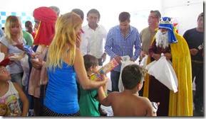 Fue en el Parador de Santa Teresita, en el marco de la jornada de festejos de Reyes Magos y recreación con las sedes del programa ENVIÓN.