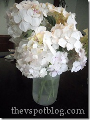 white, flower, hydrangea, arrangement, bouquet