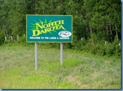 2487 North Dakota US-281 South - Welcome sign
