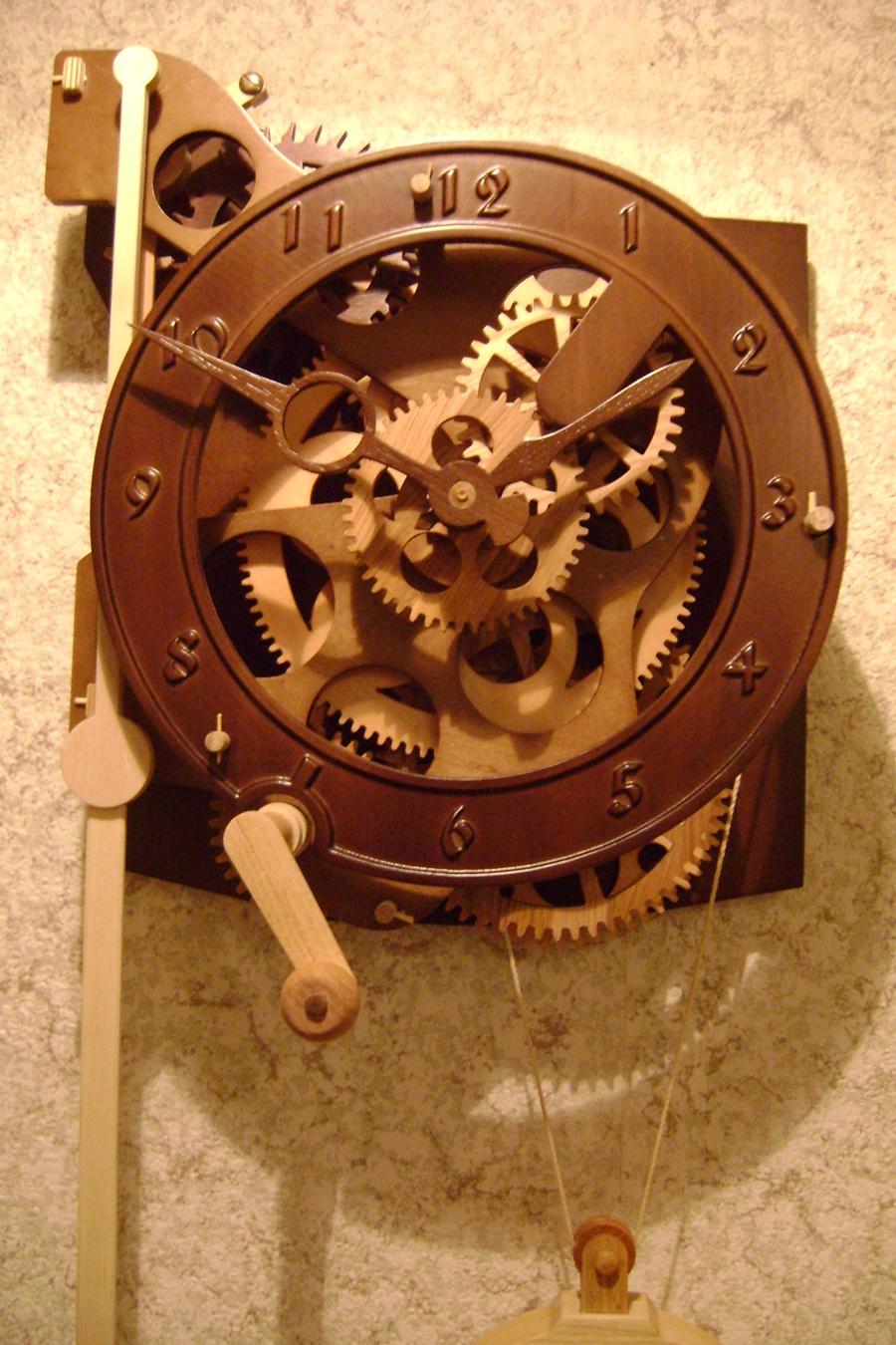 Как сделать механические часовые механизмы