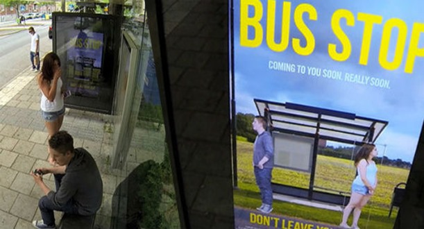 adobe creative day - bus stop - prank photoshop - hilarious - desafio criativo - pegadinha ponto onibus (11)