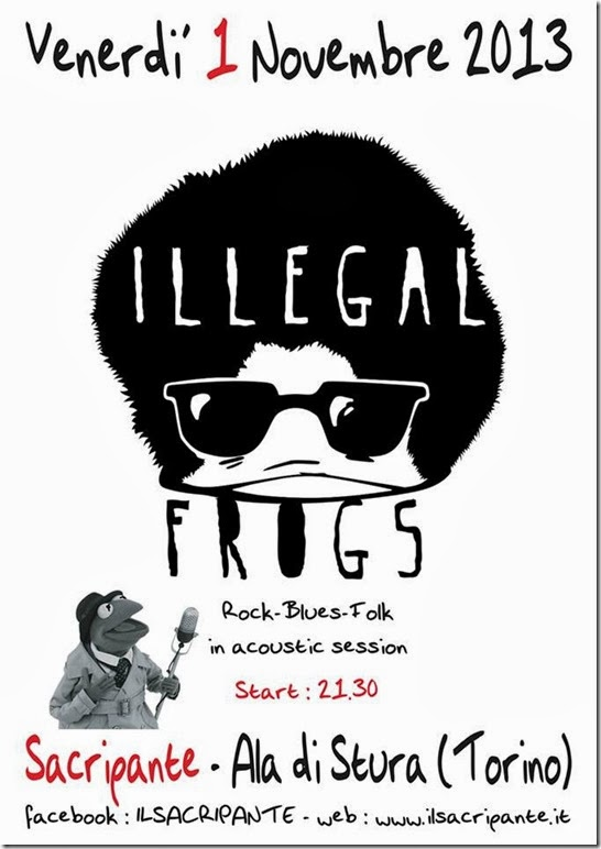 Illegal Frogs 2013