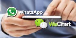 Dapatkah Wechat Mengungguli WhatsApp