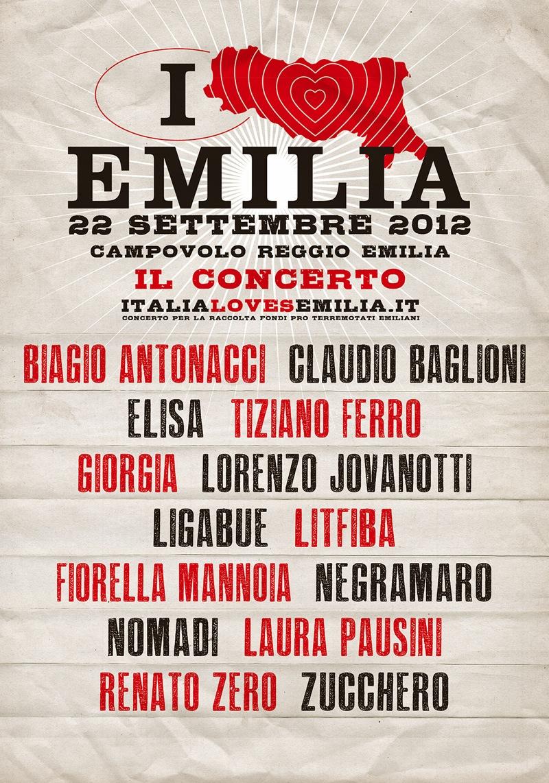 Locandina Italia Loves Emilia