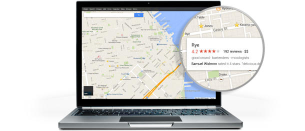 Google maps 610x262